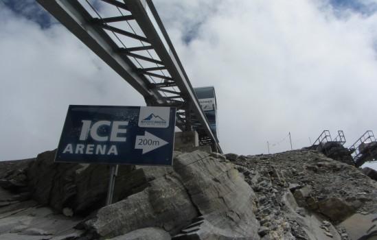 הדרך אל ה-Ice Arena