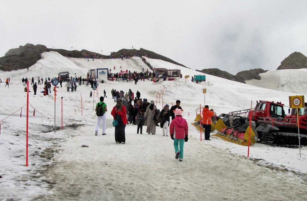 Ice Arena בפיסגת קרחון קיצשטיינהורן