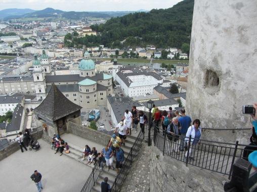 הנוף מטירת זלצבורג