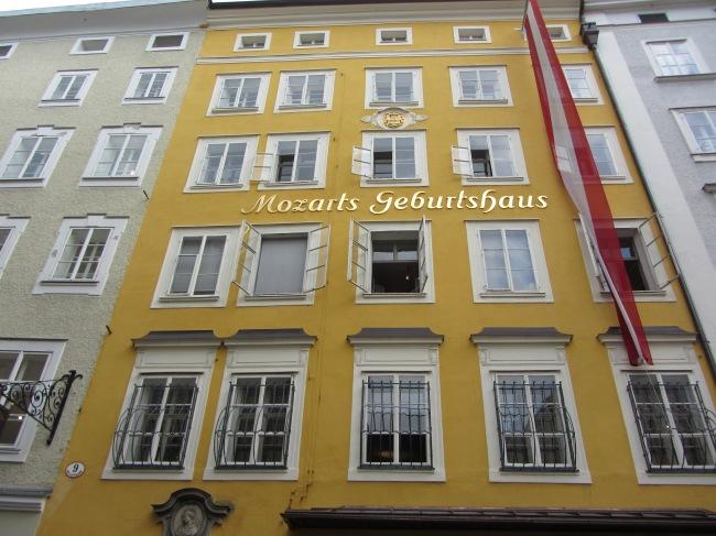 בית הולדתו של מוצרט בזלצבורג