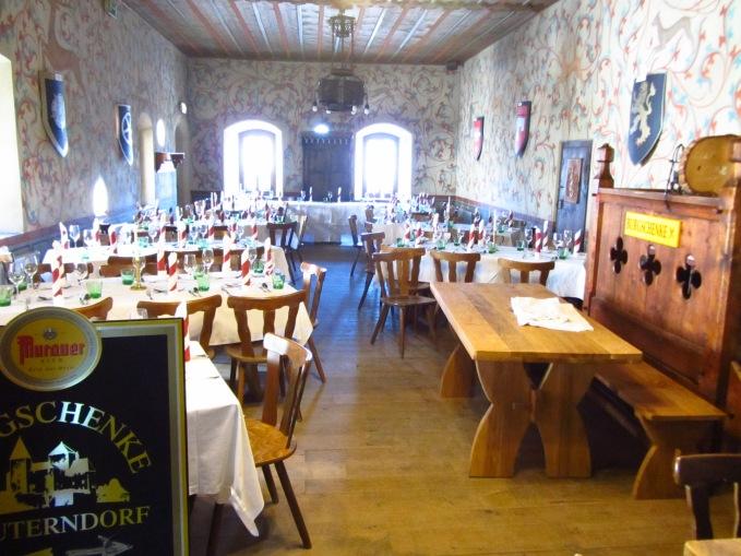 חדר האוכל במצודה