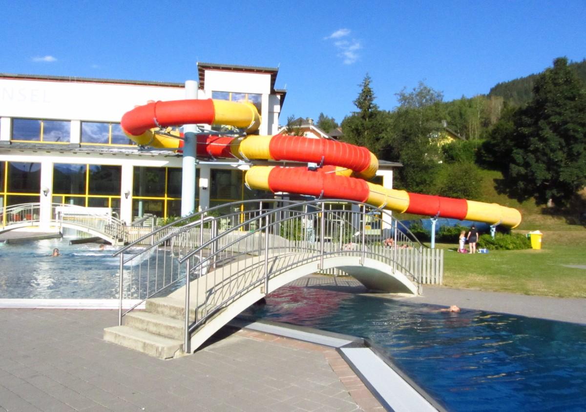 פארקי מים מומלצים בחבל זלצבורג שבאוסטריה