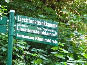 הכניסה לנקיק ליכטנשטיין