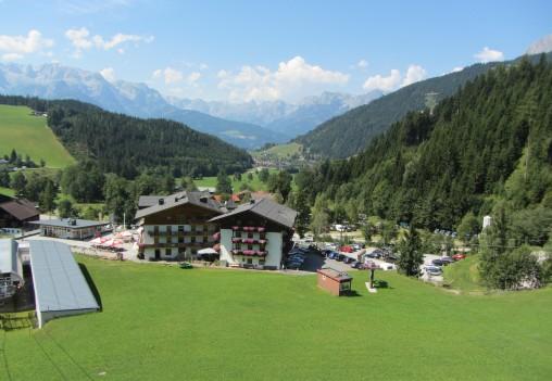 הנוף של Werfenweng
