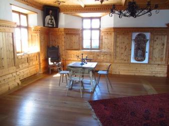 אחד מחדרי המצודה