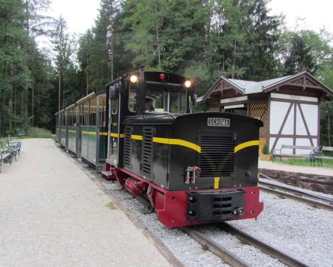 רכבת הקיטור במוזיאון הפתוח
