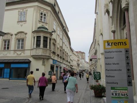 מדרחוב העיר העתיקה קרמס