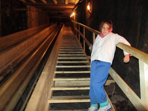 מי שחושש יכול לרדת במדרגות