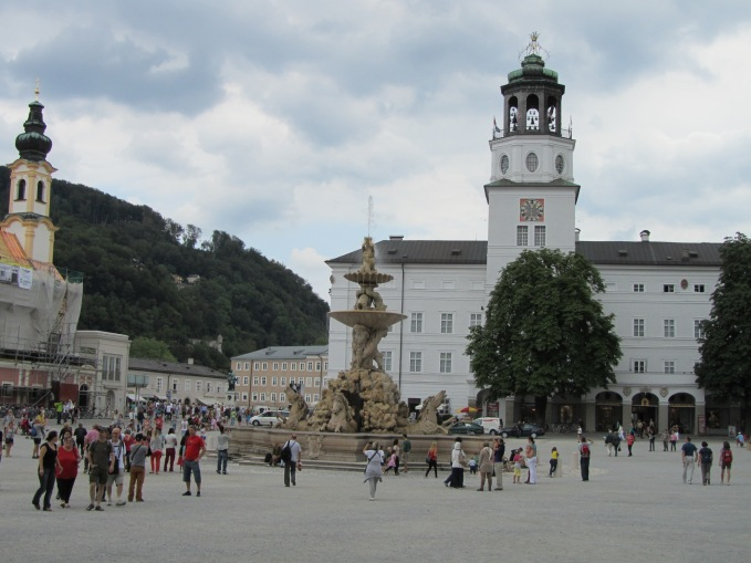 מרכז העיר העתיקה זלצבורג