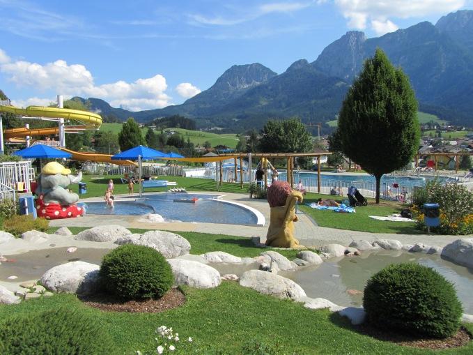 פארק המים היפה והקפוא