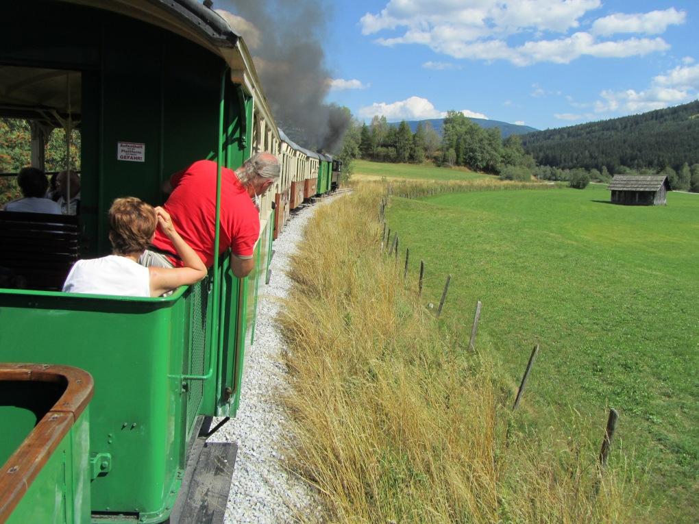 נסיעה מהנה ברכבת הקיטור