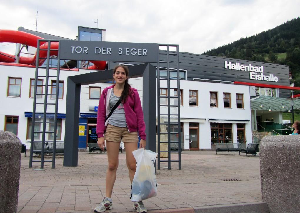 בריכת השחייה ב-Zell am See