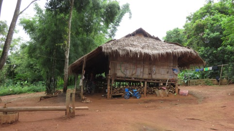 Padong long-neck tribe village