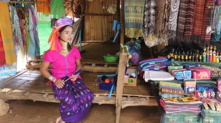 Padong long-neck tribe village