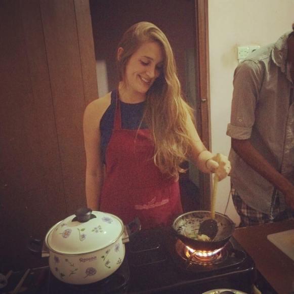 סדנת בישול בסרי לנקה (קרדיט לצילום: ליטל שפיר)